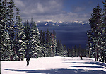 Homewood Ski Resort and lake Tahoe