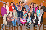 Staff, present and past from The St Brendan's Community Centre, Ardfert wishing Christie Hanafin, Katie Roche and Anto O'Halloran, all Ardfert, seated front, good luck with their retirement from the centre on Sunday evening............................................................. ............   Copyright Kerry's Eye 2008