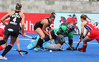 Olivia Shannon during the Pro League Hockey match between the Blacksticks women and the USA, Nga Punawai, Christchurch, New Zealand, Sunday 16 February 2020. Photo: Simon Watts/www.bwmedia.co.nz