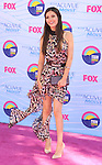 UNIVERSAL CITY, CA - JULY 22: Victoria Justice arrives at the 2012 Teen Choice Awards at Gibson Amphitheatre on July 22, 2012 in Universal City, California.