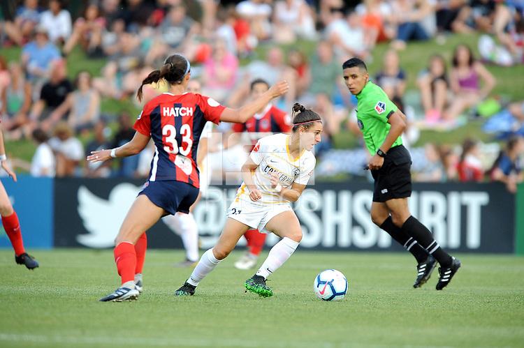 Boyds, MD - Saturday, June 1, 2019: The Washington Spirit defeated the Utah Royals 2-0 at Maureen Hendricks Field, Maryland SoccerPlex.