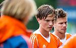 DEN HAAG - Jorrit Croon bij  de trainingswedstrijd hockey Nederland-Argentinie (1-2).  COPYRIGHT KOEN SUYK