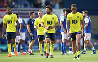 Blackburn Rovers' Bradley Dack and Blackburn Rovers' Elliott Bennett<br /> <br /> Photographer Rachel Holborn/CameraSport<br /> <br /> The EFL Sky Bet Championship - Ipswich Town v Blackburn Rovers - Saturday 4th August 2018 - Portman Road - Ipswich<br /> <br /> World Copyright &copy; 2018 CameraSport. All rights reserved. 43 Linden Ave. Countesthorpe. Leicester. England. LE8 5PG - Tel: +44 (0) 116 277 4147 - admin@camerasport.com - www.camerasport.com