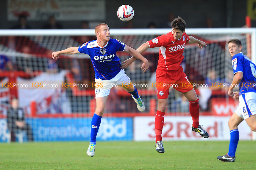 Adam Rooney of Oldham Athletic - Crawley Town vs Oldham Athletic - Sky Bet League One Football at the Broadfield Stadium Crawley, West Sussex - 28/09/13 - MANDATORY CREDIT: Simon Roe/TGSPHOTO - Self billing applies where appropriate - 0845 094 6026 - contact@tgsphoto.co.uk - NO UNPAID USE