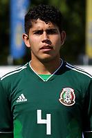 Carlos Alonso Vargas Tenorio of Mexico U21's during Mexico Under-21 vs Turkey Under-21, Tournoi Maurice Revello Football at Stade de Lattre-de-Tassigny on 6th June 2018