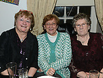 Kathleen Monaghan, Rita Moonan and Carmel Geraghty pictured at Val Clarke's 70th birthday in McHugh's. Photo:Colin Bell/pressphotos.ie