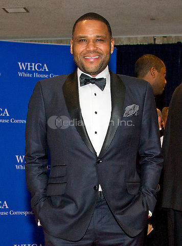 Anthony Anderson arrives for the 2016 White House Correspondents Association Annual Dinner at the Washington Hilton Hotel on Saturday, April 30, 2016.<br /> Credit: Ron Sachs / CNP<br /> (RESTRICTION: NO New York or New Jersey Newspapers or newspapers within a 75 mile radius of New York City)/MediaPunch