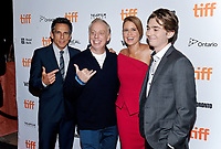 09 September 2017 - Toronto, Ontario Canada - Ben Stiller, Mike White, Jenna Fischer and Austin Abrams. 2017 Toronto International Film Festival - &quot;Brad's Status&quot; Premiere held at Winter Garden Theatre. <br /> CAP/ADM/BPC<br /> &copy;BPC/ADM/Capital Pictures