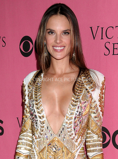 WWW.ACEPIXS.COM . . . . .  ..... . . . . US SALES ONLY . . . . .....November 29 2011, LA....Alessandra Ambrosio at the 2011 Victoria's Secret Fashion Show viewing party at the Samueli Theater in LA, California....Please byline: FAMOUS-ACE PICTURES... . . . .  ....Ace Pictures, Inc:  ..Tel: (212) 243-8787..e-mail: info@acepixs.com..web: http://www.acepixs.com
