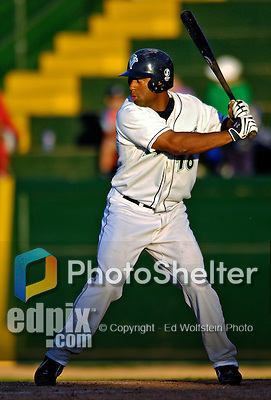 3 September 2007:  Vermont Lake Monsters outfielder Garrett Bass in action against the Lowell Spinners at Historic Centennial Field in Burlington, Vermont. The Lake Monsters defeated the Spinners 9-5 in New York-Penn League action...Mandatory Photo Credit: Ed Wolfstein Photo