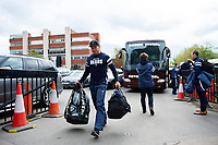 Bristol Bears Asssistant Coach Bruce Reihana arrives at Welford Road. Gallagher Premiership match, between Leicester Tigers and Bristol Bears on April 27, 2019 at Welford Road in Leicester, England. Photo by: Patrick Khachfe / JMP