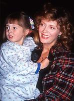 #SusanSarandon and daughter #EvaAmurri 1989<br /> Photo By Adam Scull/PHOTOlink.net