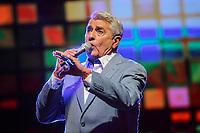 Michel Louvain performs at the Festival d'ete de Quebec (FEQ) in Quebec city Wednesday July 12, 2017.
