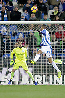 CD Leganes' Youssef En-Nesyri (R) and Deportivo Alaves' Fernando Pacheco  during La Liga match. November 23,2018. (ALTERPHOTOS/Alconada) /NortePhoto.com