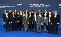 AGENZIA EUROPEA DELLO SPAZIO.CONSIGLIO A LIVELLO MINISTERIALE .NELLA FOTO FOTO FAMIGLIA DEI 20 MINISTRI PRESENTI.EUROPEAN SPACE AGENCY  COUNCIL MEETING AT MINISTERIAL LEVEL.