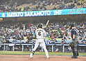 Hayato Sakamoto (JPN),<br /> MARCH 21, 2017 - WBC :<br /> Hayato Sakamoto of Japan at bat during the 2017 World Baseball Classic Semifinal game between United States 2-1 Japan at Dodger Stadium in Los Angeles, California, United States. (Photo by AFLO)