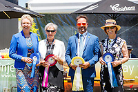 The Ground Jury during the Prizegiving for the Horselands CCI2*. 2018 AUS-Mitsubishi Motors Australian International 3 Day Event. Sunday 18 November. Copyright Photo: Libby Law Photography