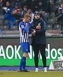 10.03.2018, OLympiastadion, Berlin, GER, 1.FBL, Hertha BSC VS. FC Freiburg, im Bild <br /> Fabian Lustenberger (Hertha BSC Berlin #28)<br /> <br /> <br />       <br /> Foto &copy; nordphoto / Engler