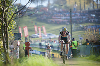 Thijs Aerts (BEL/Young Telenet Fidea)<br /> <br /> U23 race<br /> Koppenbergcross 2015