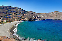 Xyla is one of the most popular beaches in Kea, Greece