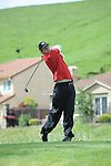 VALLEJO, CA - APRIL 20:  Daniel Cone of the Saint Mary's Gaels during the final round of the WCC Golf Championships on April 20, 2010 in Vallejo, California.