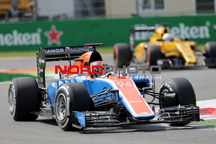 02.09.-04.09.2016, Autodromo Nationale, Monza, ITA, F1, Grosser Preis von Italien, Monza,  Race 14, im Bild <br /> Pascal Wehrlein (GER#94), Manor Racing MRT<br /> <br /> <br /> Foto &copy; nordphoto / Bratic