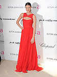 Odette Yustman at the 19th Annual Elton John AIDS Foundation Academy Awards Viewing Party held at The Pacific Design Center Outdoor Plaza in West Hollywood, California on August 27,2011                                                                               © 2011 DVS / Hollywood Press Agency