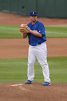 Iowa Cubs pitcher Blake Cooper (37) on the mound during a Pacific Coast League game against the Colorado Springs Sky Sox on May 11th, 2015 at Principal Park in Des Moines, Iowa.  Colorado Springs defeated Iowa 13-7.  (Brad Krause/Four Seam Images)