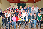 DVD Launch : Members of the Kerry Crusader, Listowel at the launch of the DVD of Rumble in Listowel Boxing nigh which was launched at the Kingdom Bar , Listowel on Friday night last.