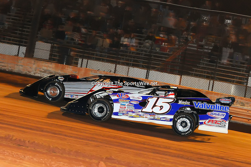Jan 28, 2010; 9:11:48 PM; Waynesville, GA., USA; The Southern All Stars Racing Series running The Super Bowl of Racing VI at Golden Isles Speedway.  Mandatory Credit: (thesportswire.net)