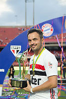 São Paulo (SP), 15/12/2019 - Futebol-Legendscup - Final entre as lendas de São Paulo e Barcelona no estádio do Morumbi, em São Paulo (SP), domingo (15).