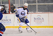 Brad May (27) during The Frozen Frontier Buffalo Sabres vs. Rochester Amerks Alumni Game at Frontier Field on December 15, 2013 in Rochester, New York.  (Copyright Mike Janes Photography)