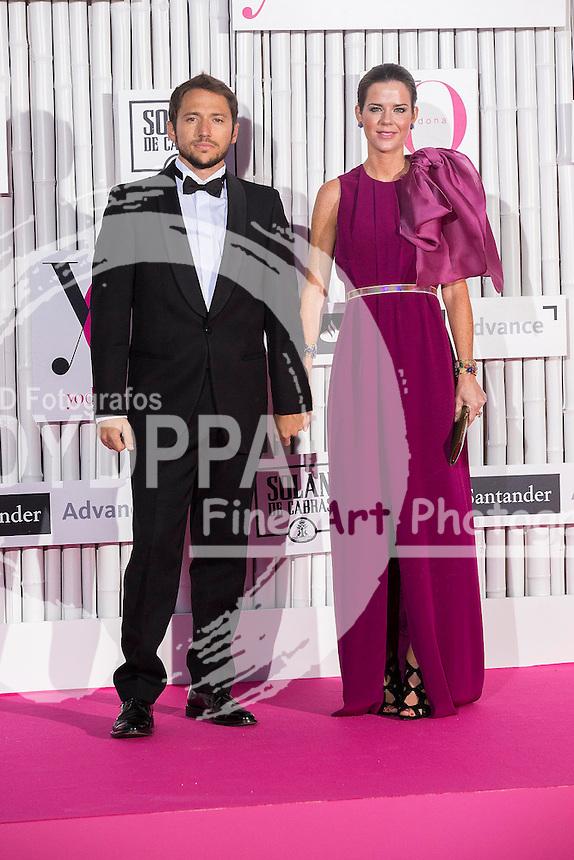 'IX International Yo Dona Awards' at Zarzuela Hippodrome in Madrid on June 24, 2014<br /> Manuel Martos; Amelia Bono