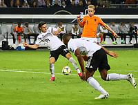 Frenkie de Jong (Niederlande) erzielt das 1:1 - 06.09.2019: Deutschland vs. Niederlande, Volksparkstadion Hamburg, EM-Qualifikation DISCLAIMER: DFB regulations prohibit any use of photographs as image sequences and/or quasi-video.