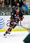 26 November 2010: Northeastern University Huskies' forward Justin Daniels, a Sophomore from Suffern, NY, in action against the University of Vermont Catamounts at Gutterson Fieldhouse in Burlington, Vermont. The Huskies came back from a 2-0 deficit to earn a 2-2 tie against the Catamounts. Mandatory Credit: Ed Wolfstein Photo