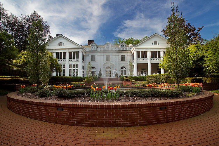 The Historic Duke Mansion in Charlotte NC. The Duke Mansion is located in the beautiful Myers park neighborhood in Charlotte NC.