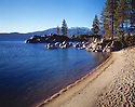 Lake Tahoe Landscape Beach