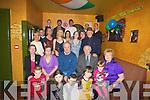 40TH: Eddie Lynch seated centre Kielduff who celebrated his 40th Birthday in Glenduff House, Kielduff on Saturday night with Family and friends.......