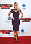 Paris Hilton attends The OpenRoad L.A. Premiere of Machete Kills hel dat The Regal Cinemas L.A. Live in Los Angeles, California on October 02,2012                                                                               © 2013 DVS / Hollywood Press Agency