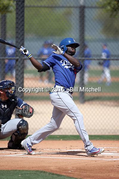 Devan Ahart - Los Angeles Dodgers 2016 spring training (Bill Mitchell)