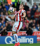 Xherdan Shaqiri of Stoke City during the premier league match at the Britannia Stadium, Stoke. Picture date 19th August 2017. Picture credit should read: Robin Parker/Sportimage