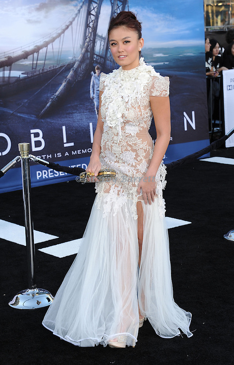 "Agnes Monica at the LA. premiere of ""Oblivion"" held at the Dolby Theatre in Los Angeles, CA. on April 10, 2013"