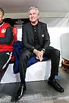 04.11.2010,  BayArena, Leverkusen, GER, UEFA EL, Bayer Leverkusen vs Aris Thessaloniki , 4. Spieltag, im Bild: Jupp Heynckes (Trainer Leverkusen) lacht  Foto © nph / Mueller