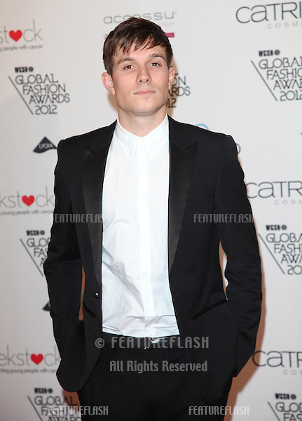 Will Best arriving for the WGSN Global Fashion Awards at The Savoy Hotel, London. 05/11/2012 Picture by: Alexandra Glen / Featureflash