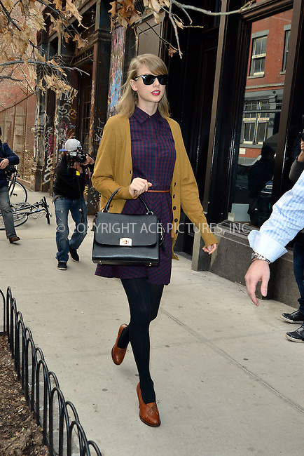 WWW.ACEPIXS.COM<br /> <br /> April 3 2014, New York City<br /> <br /> Taylor Swift goes shopping in Soho on April 3 2014 in New York City<br /> <br /> By Line: Curtis Means/ACE Pictures<br /> <br /> ACE Pictures, Inc.<br /> tel: 646 769 0430<br /> Email: info@acepixs.com<br /> www.acepixs.com
