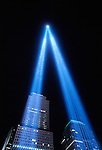Memorial Lights, WTC, New York City