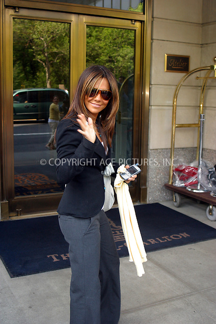 WWW.ACEPIXS.COM . . . . .  ....NEW YORK, NEW YORK, MAY 16TH 2005....Vanessa Marcil leaving her midtown hotel....Please byline: PAUL CUNNINGHAM - ACE PICTURES..... *** ***..Ace Pictures, Inc:  ..Craig Ashby (212) 243-8787..e-mail: picturedesk@acepixs.com..web: http://www.acepixs.com