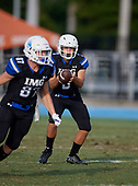 Colt Inselman (3) - Norland Vikings (Miami) vs IMG Academy Football on October 26, 2019 at IMG Academy in Bradenton, Florida.  (Mike Janes Photography)