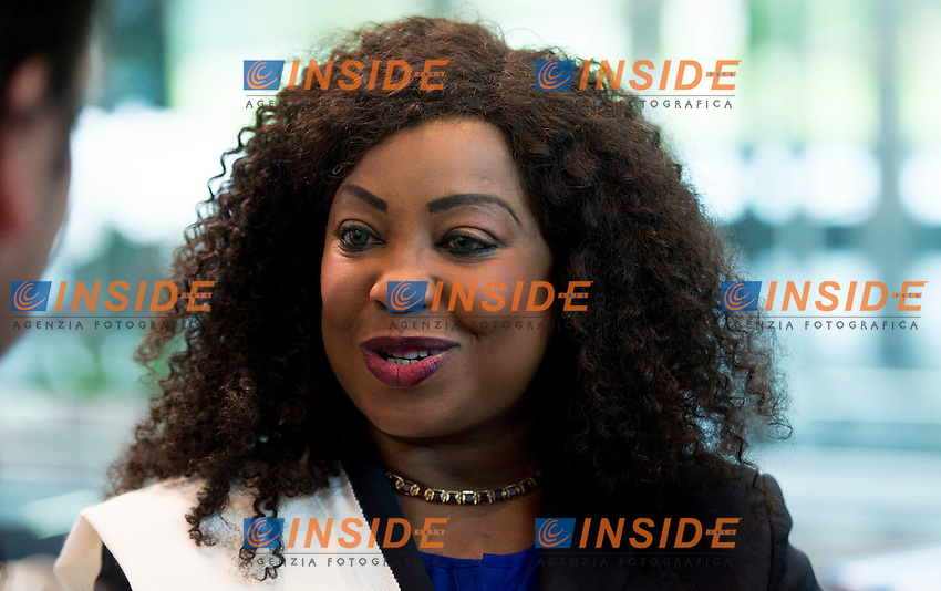 Zurigo 14-10-2016  Football FIFA - Council meeting; FIFA  General Secretary Fatma Samba Diouf Samoura (SEN) at a press briefing at the FIFA headquarters  in Zurich<br />  Foto Steffen Schmidt/freshfocus/Insidefoto ITALY ONLY