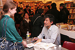 David Henry Hwang, Edward Albee, Francis Jue and Kathryn Layng at a reading and book signing for Yellow Face at The Drama Book Shop on December 10, 2009. © Lia Chang